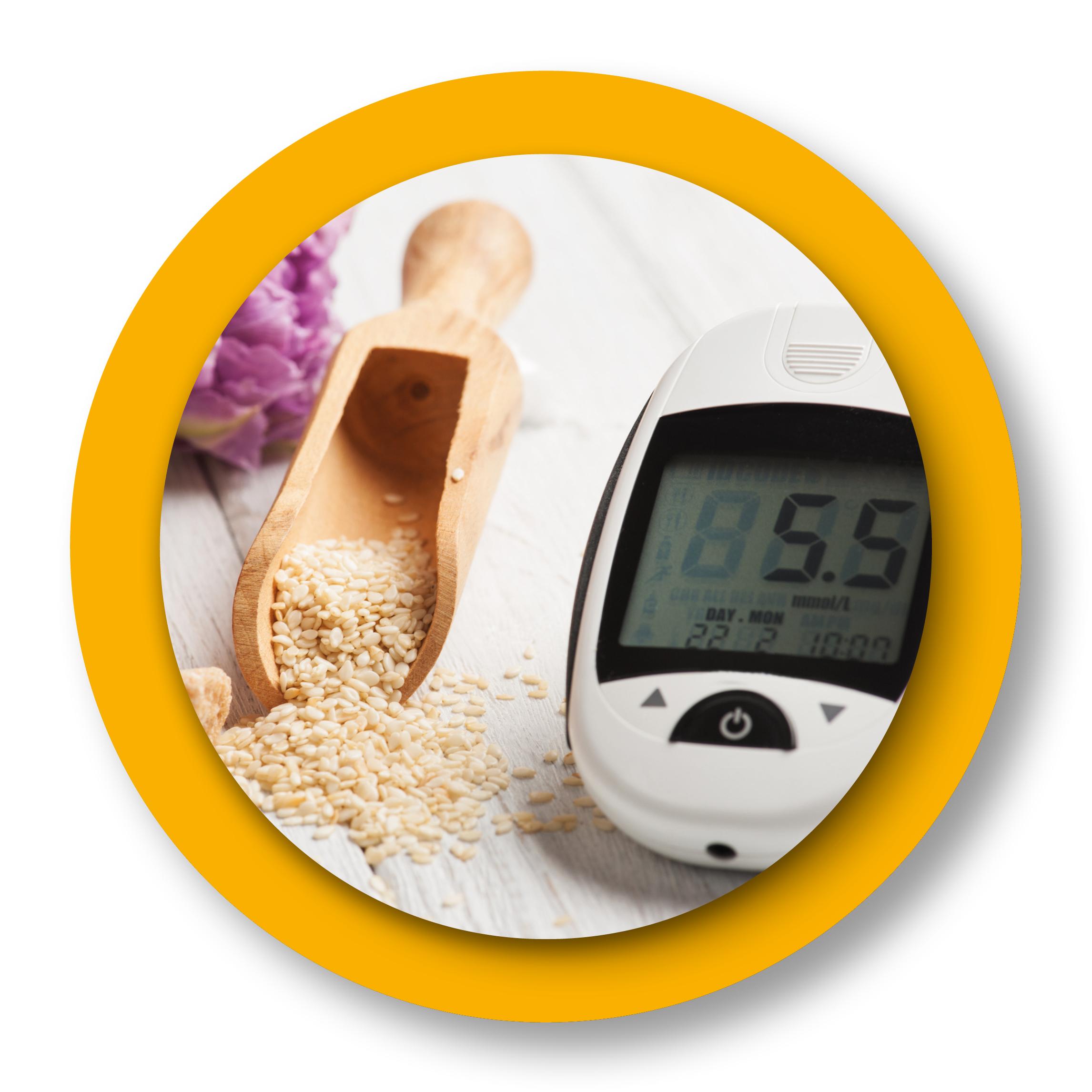 riz et appareil pour mesurer le diabète