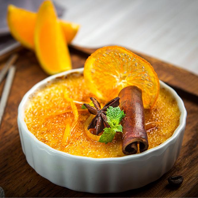 Crème aux agrumes